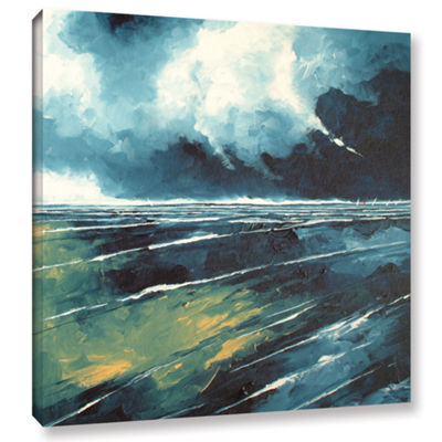 Brushstone Dark Skies Gallery Wrapped Canvas WallArt