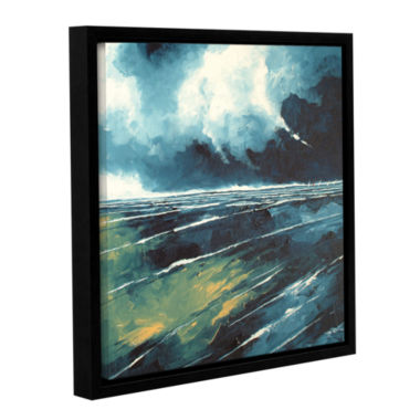 Brushstone Dark Skies Gallery Wrapped Floater-Framed Canvas Wall Art