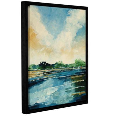 Brushstone Holkham Gallery Wrapped Floater-FramedCanvas Wall Art