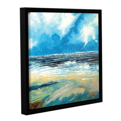 Brushstone Regatta 1 Gallery Wrapped Floater-Framed Canvas Wall Art