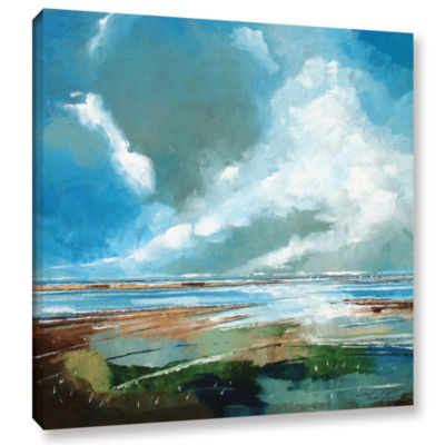 Brushstone Salthouse V Gallery Wrapped Canvas WallArt