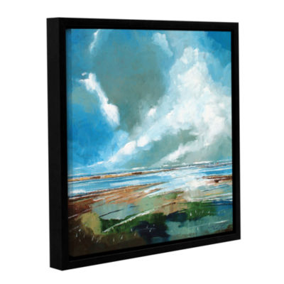 Brushstone Salthouse V Gallery Wrapped Floater-Framed Canvas Wall Art