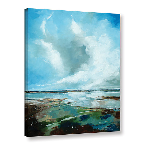 Brushstone Salthouse VI Gallery Wrapped Canvas Wall Art