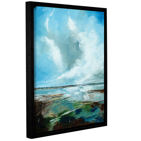 Brushstone Salthouse VI Gallery Wrapped Floater-Framed Canvas Wall Art