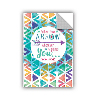 Brushstone Follow Your Arrow Removable Wall Decal