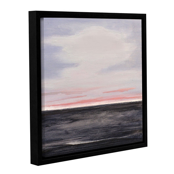 Brushstone Atlantic Gallery Wrapped Floater-FramedCanvas Wall Art