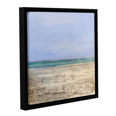 Brushstone Ausable Gallery Wrapped Floater-FramedCanvas Wall Art