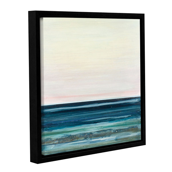Brushstone First Twin Gallery Wrapped Floater-Framed Canvas