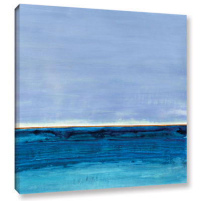 Brushstone Gulf of Mexico Gallery Wrapped Canvas