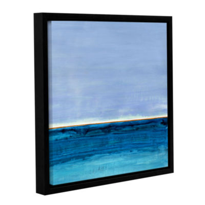 Brushstone Gulf of Mexico Gallery Wrapped Floater-Framed Canvas