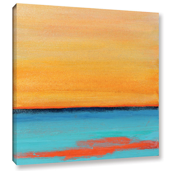 Brushstone Ionian Sea Gallery Wrapped Canvas