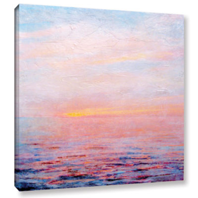 Brushstone Landscape Study I Gallery Wrapped Canvas
