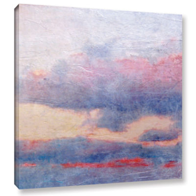 Brushstone Landscape Study II Gallery Wrapped Canvas