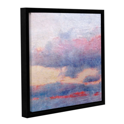 Brushstone Landscape Study II Gallery Wrapped Floater-Framed Canvas