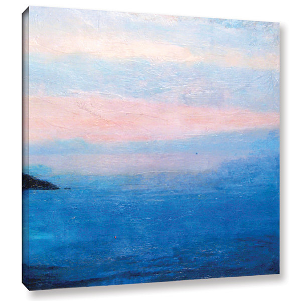 Brushstone Landscape Study IV Gallery Wrapped Canvas