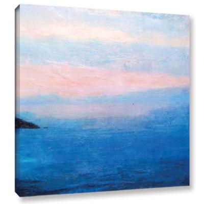 Brushstone Landscape Study IV Gallery Wrapped Canvas