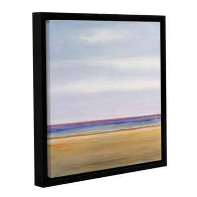 Brushstone Point Pleasant Gallery Wrapped Floater-Framed Canvas Wall Art