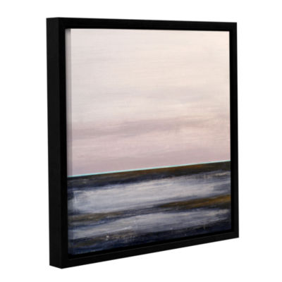 Brushstone Snake River Gallery Wrapped Floater-Framed Canvas Wall Art