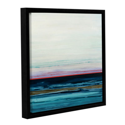 Brushstone Tyrrhenian Sea Gallery Wrapped Floater-Framed Canvas Wall Art
