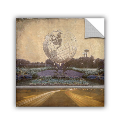 Brushstone Unisphere Parkway Removable Wall Decal