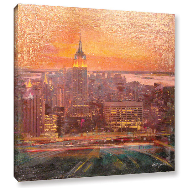 Brushstone Uptown Manhattan Gallery Wrapped CanvasWall Art