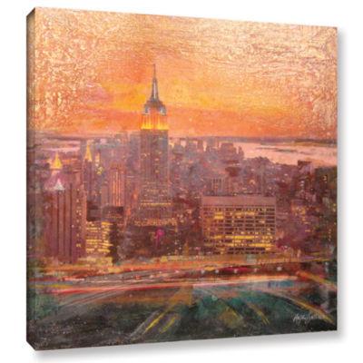 Brushstone Uptown Manhattan Gallery Wrapped CanvasWall Art