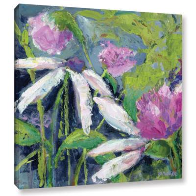 Brushstone Flower Fields Lavender Gallery WrappedCanvas Wall Art