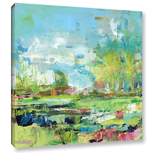 Brushstone Summer Coast Gallery Wrapped Canvas Wall Art