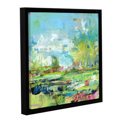 Brushstone Summer Coast Gallery Wrapped Floater-Framed Canvas Wall Art