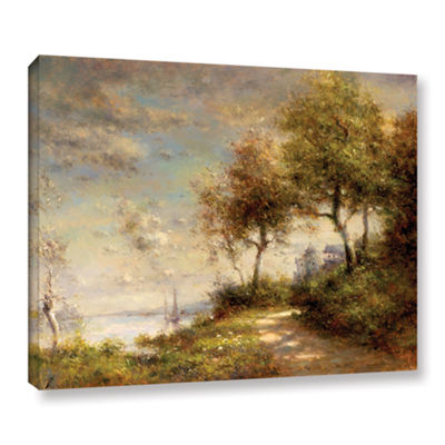 Brushstone Country Roads Gallery Wrapped Canvas Wall Art
