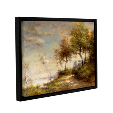 Brushstone Country Roads Gallery Wrapped Floater-Framed Canvas Wall Art