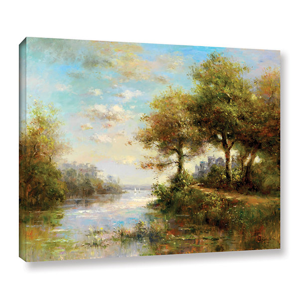 Brushstone Serenity Cove Gallery Wrapped Canvas Wall Art