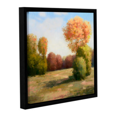Brushstone Autumn Breeze Gallery Wrapped Floater-Framed Canvas