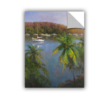 Brushstone Caribbean Lagoon Removable Wall Decal