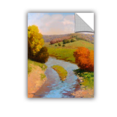 Brushstone French Canal II Removable Wall Decal