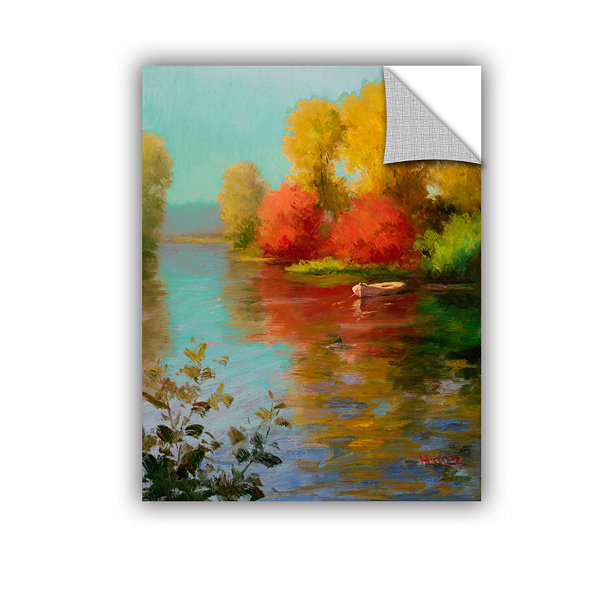 Brushstone French Canal III Removable Wall Decal