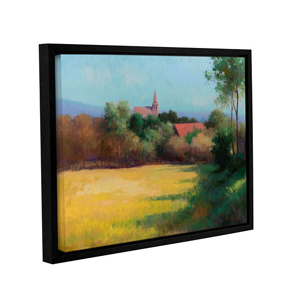 Brushstone Sundown Affair Gallery Wrapped Floater-Framed Canvas Wall Art