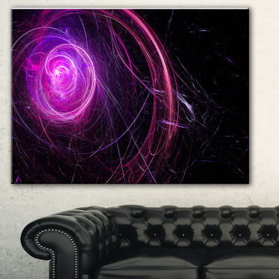 Designart Nebula Is A Bright Star. Star Swirl. Colored Sparks.