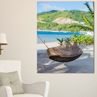 Designart Philippines Tropical Paradise LandscapePhoto Canvas Art Print - 3 Panels