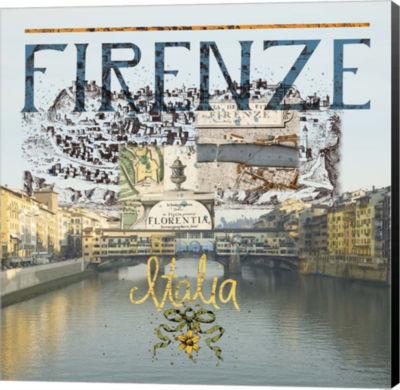 Metaverse Art Ponte Vecchio Museum Wrap Canvas Wall Art