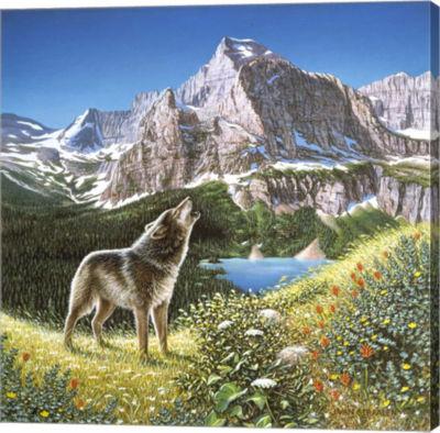 Metaverse Art Alpine Chorus Gallery Wrap Canvas Wall Art