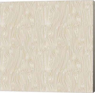Metaverse Art Woodgrain Gallery Wrap Canvas Wall Art