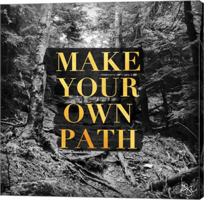 Metaverse Art Make your Own Path Gallery Wrap Canvas Wall Art