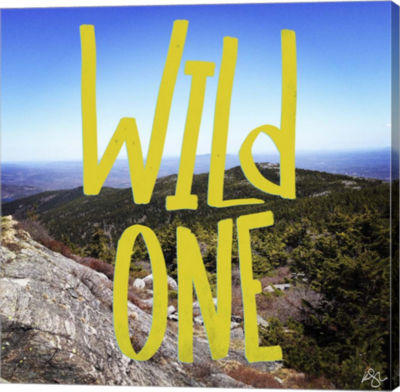 Metaverse Art Wild One View From The Top Gallery Wrap Canvas Wall Art