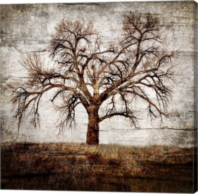 Metaverse Art Cottonwood Tree Part 1 Gallery Wrap Canvas Wall Art