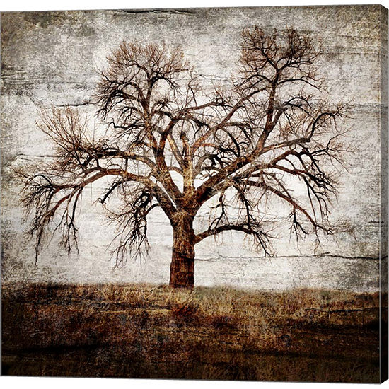 Metaverse Art Cottonwood Tree Part 1 Gallery Wrap Canvas Wall Art