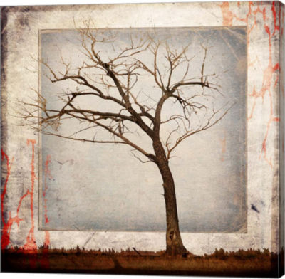 Metaverse Art Cottonwood Tree Part 5 Gallery Wrap Canvas Wall Art