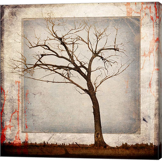 Metaverse Art Cottonwood Tree Part 5 Gallery Wrap Canvas Wall Art