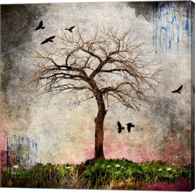 Metaverse Art Cottonwood Tree Part 8 Gallery Wrap Canvas Wall Art