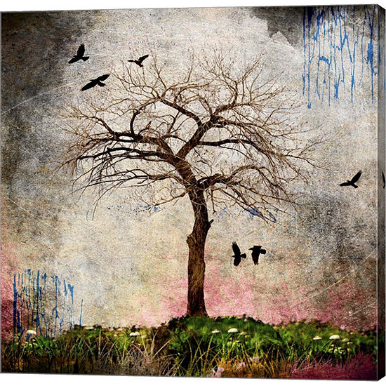 Metaverse Art Cottonwood Tree Part 8 Gallery Wrap Canvas Wall Art